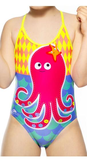 Turbo Octopus Lapset Uimapuku , monivärinen